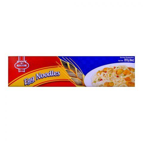 Kolson Egg Noodles 227g