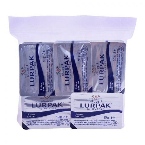 Lurpak Minis Salted Butter Pouch 10-Pack