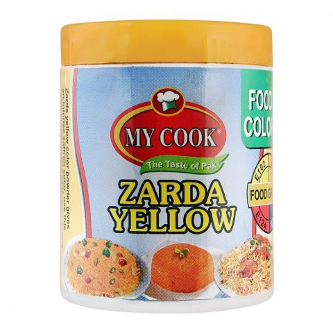 My Cook Zarda Yellow Food Colour, 25g