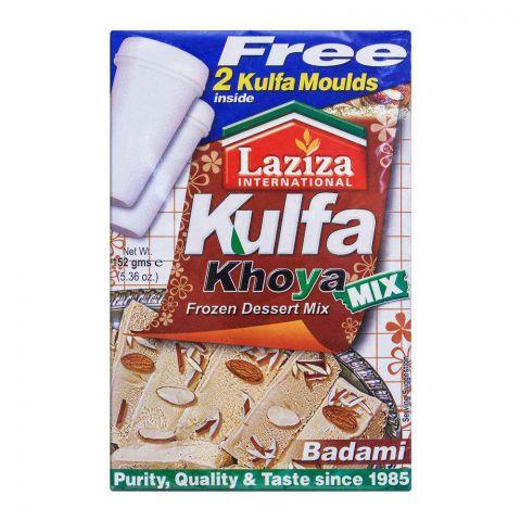 Laziza Kulfa Khoya Frozen Dessert Mix, Almond, 152g