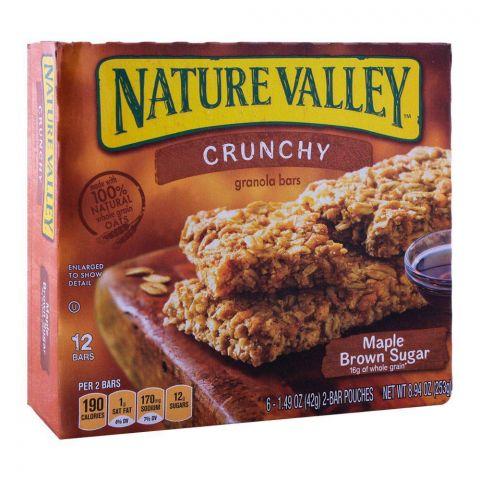 Nature Valley Maple Brown Sugar Crunchy Granola Bars 252g