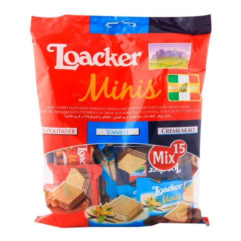 Loacker Minis Wafers 150gm
