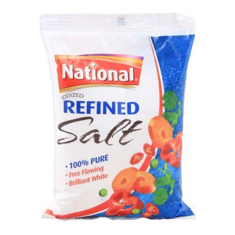 National Iodized Refined Salt, 800g