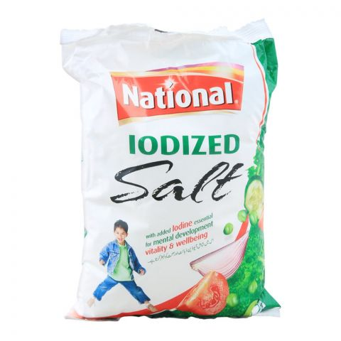 National Iodized Salt, 800g