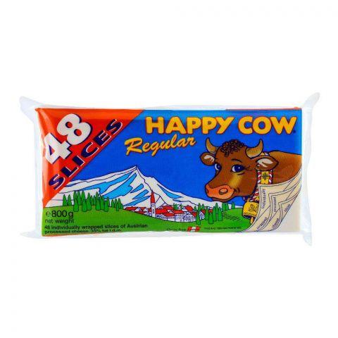 Happy Cow Regular 48 Slices 800g