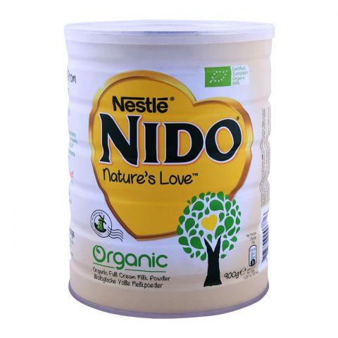Nido Organic Fortified Milk Powder 900g