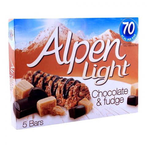 Alpen Light Chocolate & Fudge Bars 5-Pack