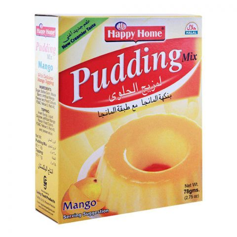 Happy Home Mango Pudding Mix 78g