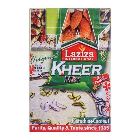 Laziza Kheer Mix Pistachio + Coconut 155g