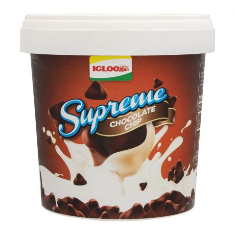 Igloo Supreme Chocolate Chip Frozen Dessert, 1 Liter