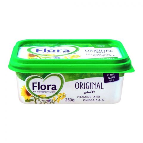Flora Original Spread, Plant Based Oil, 250g
