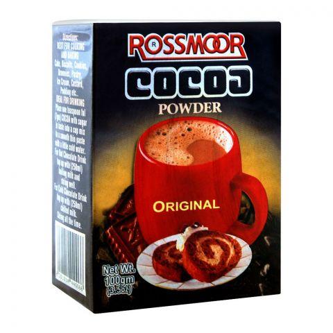 Rossmorr Cocoa Powder, Original, 100g