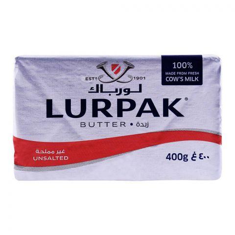 Lurpak Unsalted Butter 400g