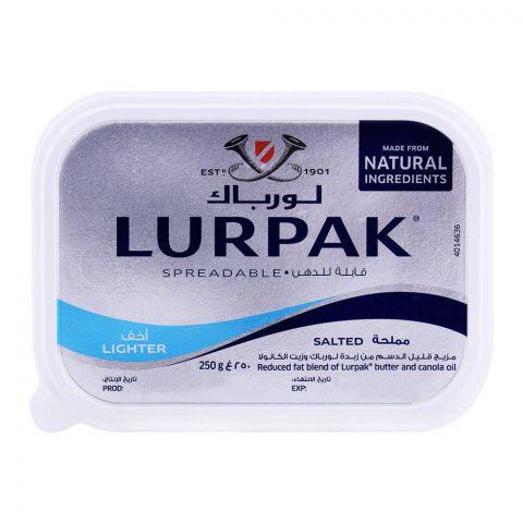 Lurpak Salted Lighter Spreadable Butter 250g