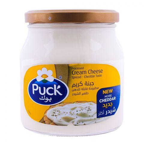 Puck Cheddar Cream Cheese Spread 500g
