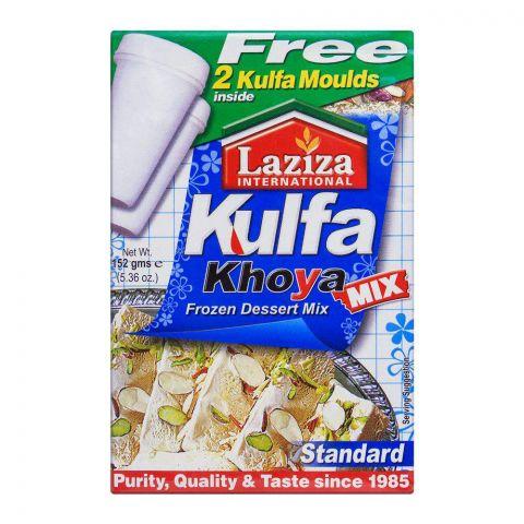 Laziza Kulfa Khoya Frozen Dessert Mix, Standard, 152g