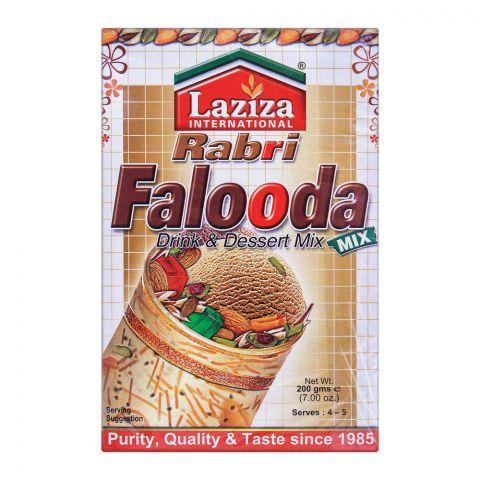 Laziza Rabri Falooda Drink & Dessert Mix 200g