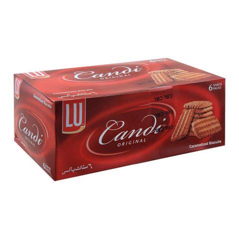 LU Candi Original Biscuits, 6 Snack Packs