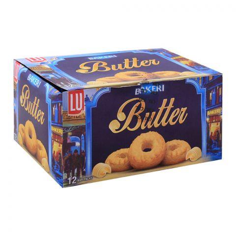 LU Bakeri Butter Cookies, 12 Bar Packs