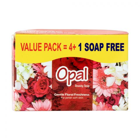 Opal Beauty Soap, Value Pack 4+1