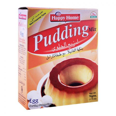 Happy Home Egg Pudding Mix 60g