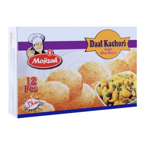 Mojizah Daal Kachori With Aloo Bujia, 12 Pieces