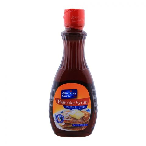 American Garden Pancake Syrup, 2% Maple Syrup, 355ml