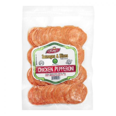 King's Chicken Pepperoni, 200g