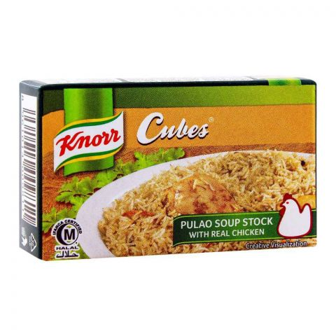 Knorr Cubes, Pulao Soup Stock 18g