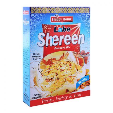 Happy Home Vanilla Labe Shreen Dessert Mix150g