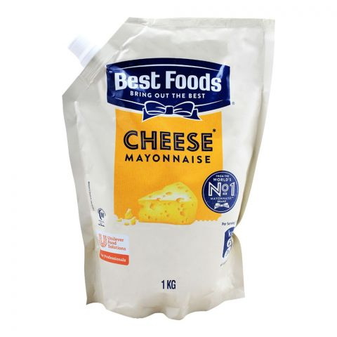 Best Foods Cheese Mayonnaise, 1 KG