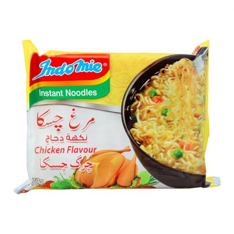 Indomie Chicken Flavour Instant Noodles, 70g
