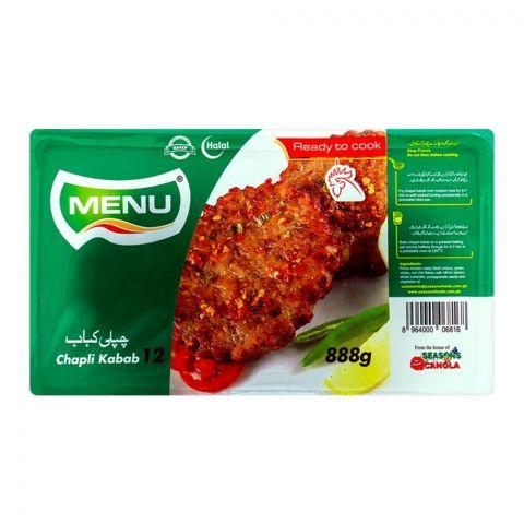 Menu Chapli Kabab, 12 Pieces, 888g