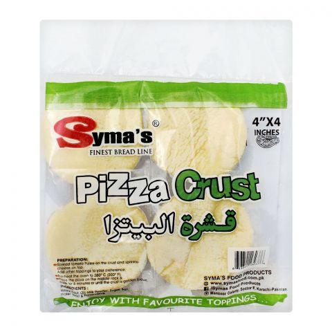 Syma's Mini Pizza Crust, 4 Inches, 4-Pack
