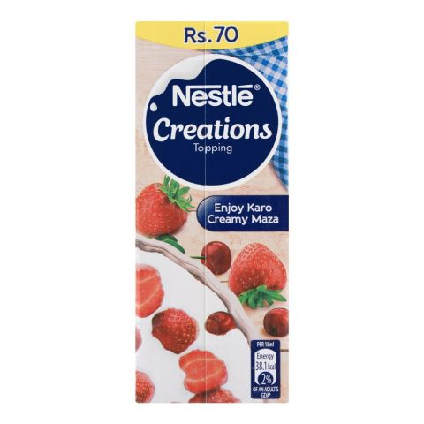 Nestle Creations Topping Cream, 180ml