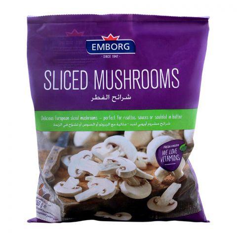 Emborg Frozen Sliced Mushroom 450g