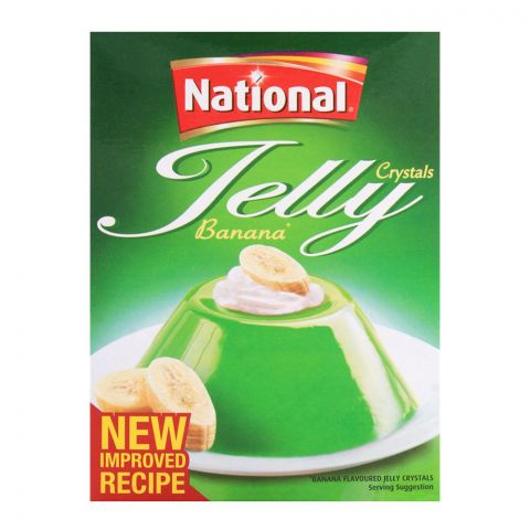 National Jelly Crystal Banana 80gm