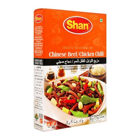 Shan Chinese Beef/Chicken Chilli Mix, 50g