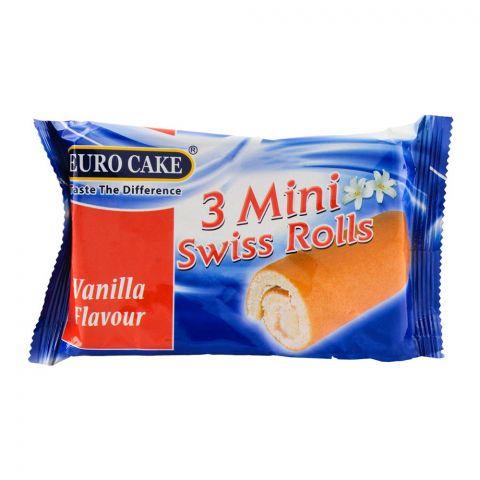 Euro Vanilla Swiss Mini Roll 3-Pack