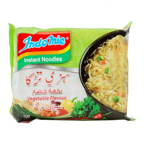 Indomie Vegetable Flavour Instant Noodles, 70g