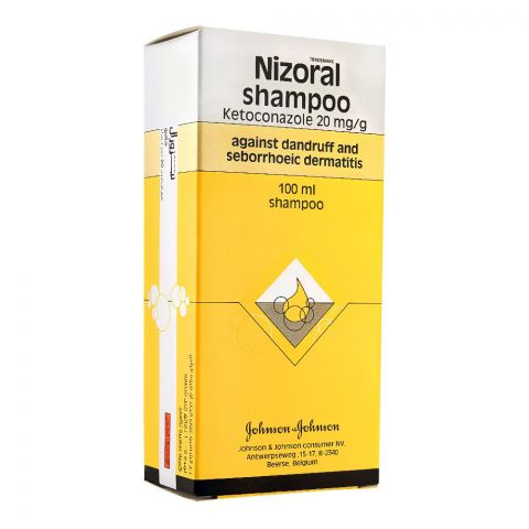Nizoral Shampoo, Anti-Dandruff , Ketoconazole 20mg/g, 100ml