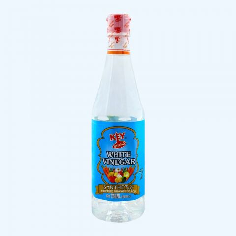 Key Brand White Vinegar, Synthetic, 750ml