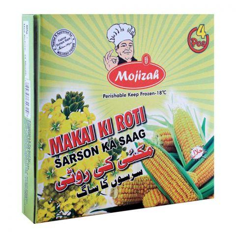 Mojizah Makai Ki Roti, 4 Pieces
