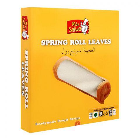 MonSalwa Spring Roll Leaves, 40-Pack, 510g