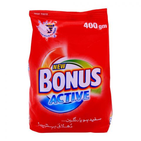 Bonus Active Detergent Powder 400g
