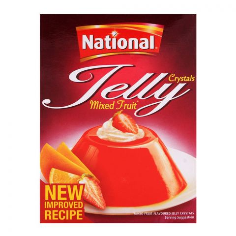 National Jelly Crystal Mixed Fruit 80gm