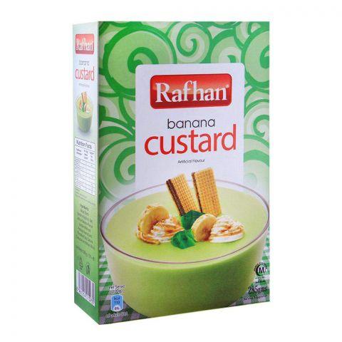 Rafhan Banana Custard 285g