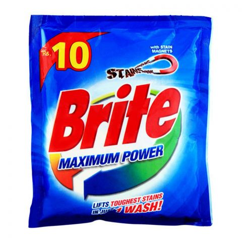 Brite Maximum Power Detergent Powder 35g