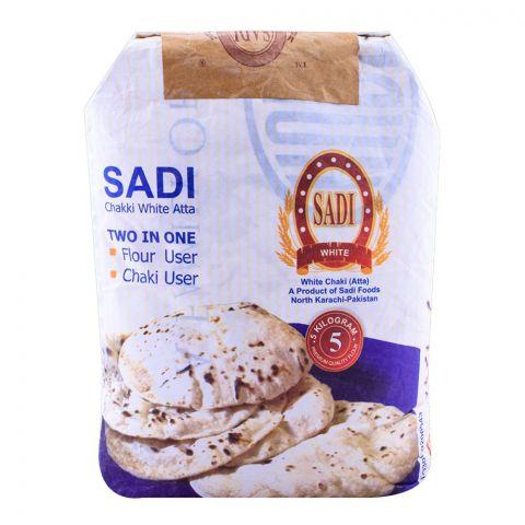 Sadi White Atta 5 KG