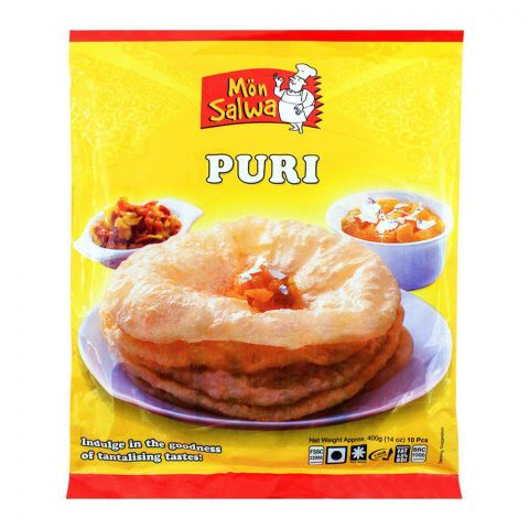 MonSalwa Puri 400g 10 Pieces